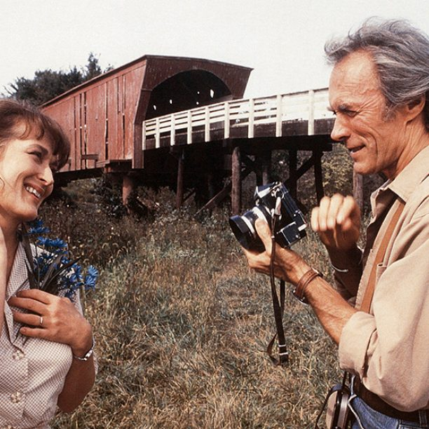 THE BRIDGES OF MADISON COUNTY, from left: Meryl Streep, Clint Eastwood, 1995. ©Warner Brothers/courtesy Everett Collection