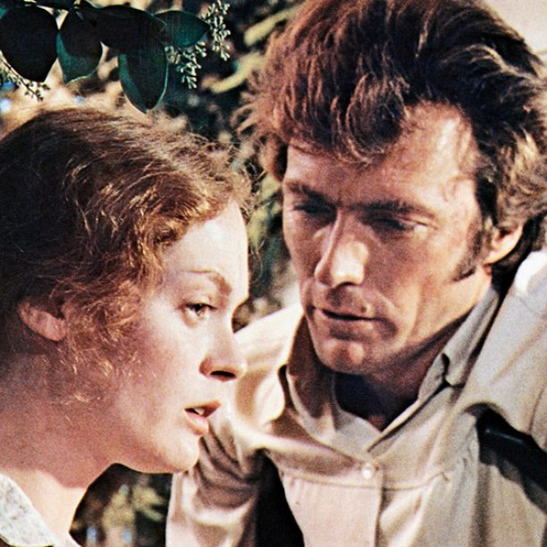 THE BEGUILED, from left: Elizabeth Hartman, Clint Eastwood, 1971